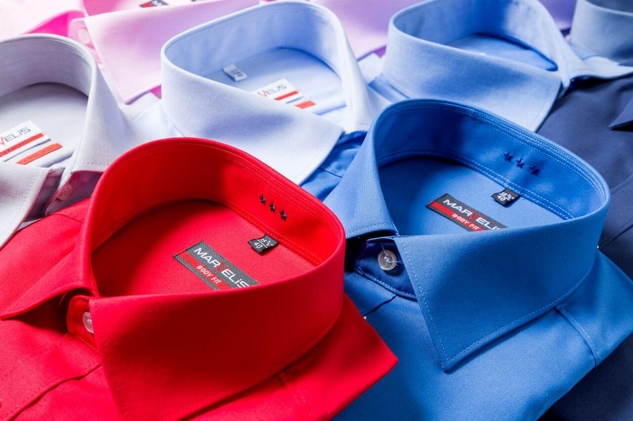 kleuren overhemd