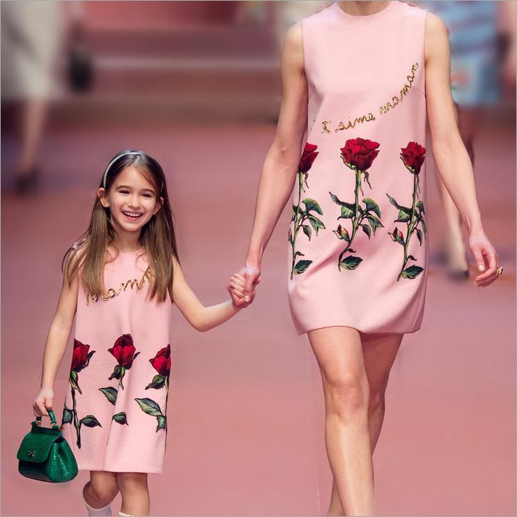 moeder en dochter zelfde kleren