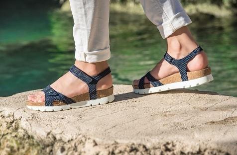 Plateau sandalen