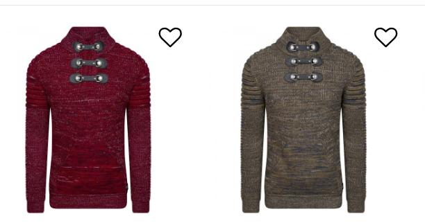mannenkleding winter lichte kleuren