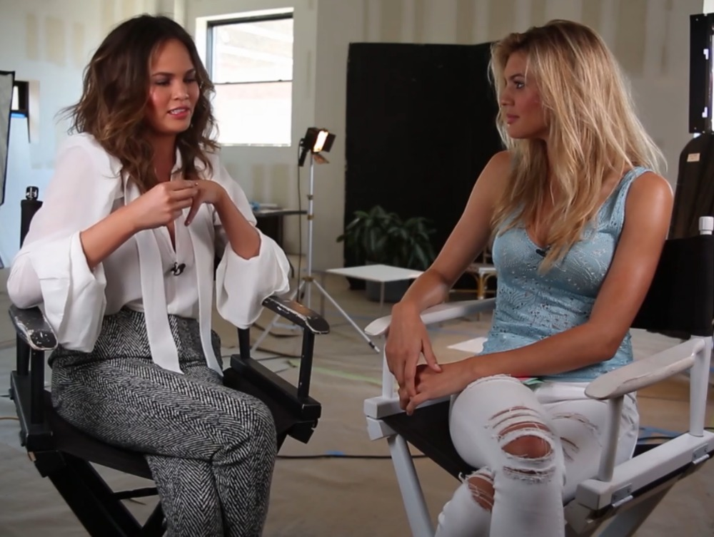 Chrissy Teigen fashion icon and cooking boss