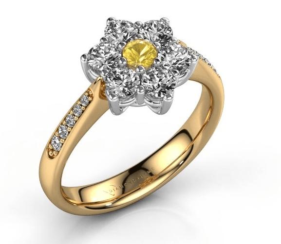 De kenmerken van een vintage diamanten ring